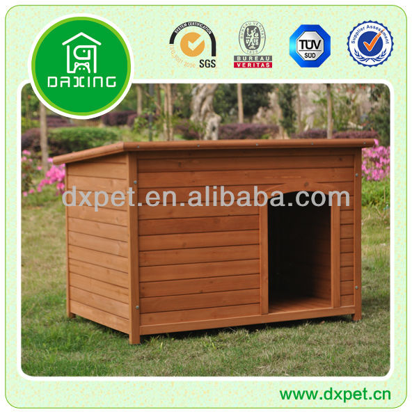 XXL Dog Kennel with Flat Roof