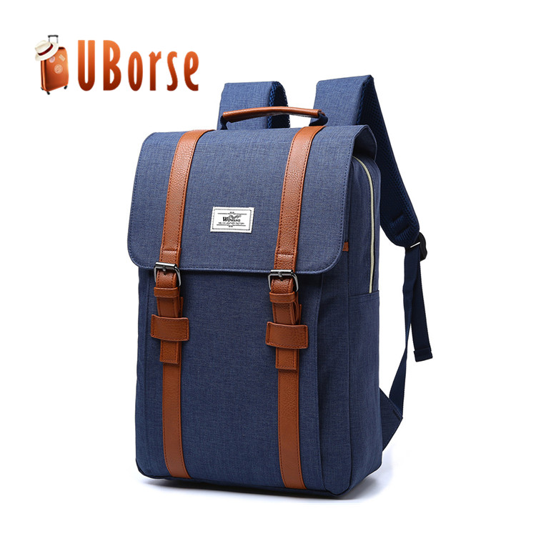 New style business laptop backpack brand waterproof nylon colleage student computer backpack school bag for boys and girls