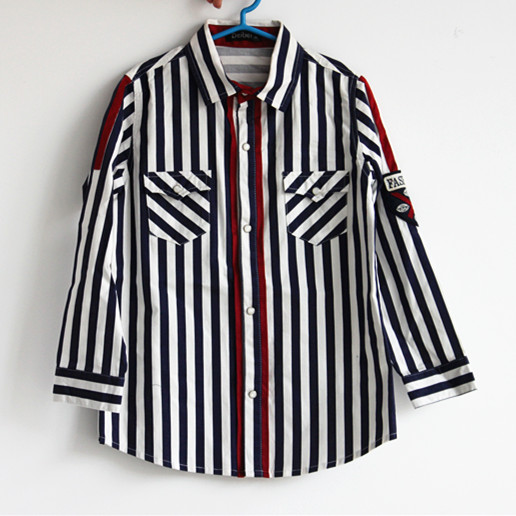 Top quality oem new pattern shirts for kids