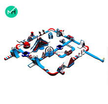 Factory price giant adult cheap inflatable water park/aqua park sport games equipment/portable water park for sale