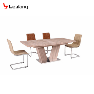modern design mdf dining table extendable