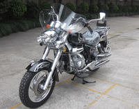 150cc/200cc storm chopper motorcycle/single&double muffler 150cc motorcycle (TKM150-8)