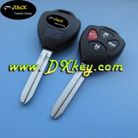 Hot sale 3+1 buttons remote key blank key for toyota camry smart key toyota