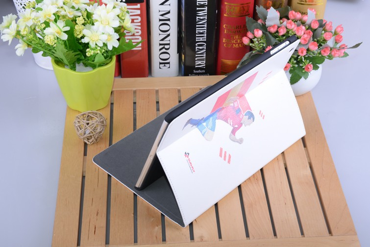 Blank sublimation case for ipad leather case for ipad 2 3 4 3d sublimation film cover