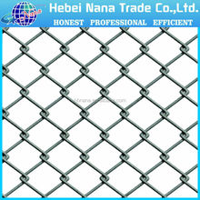High quality chain link fence panel / welded wire mesh pannel
