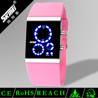 Hot fashion silicon bracelet watches for kids water resistant