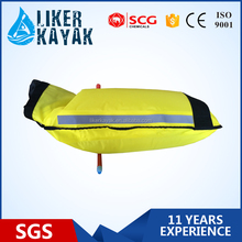 LK2881 easy to use kayak/boat's paddle float bag waterproof with reflect light