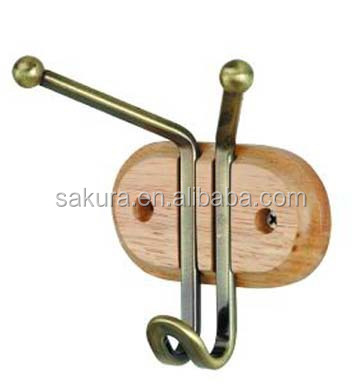utility hanger hooks wooden door hanging wall clothes hooks coat hooks concrete AE-914-1/3/5