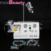 portable hydro microdermabrasion facial beauty machine with jet peel / water peel / oxygen spray function jet peel