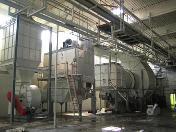Sugar Dryer Fluidized Bed, Drum (Second Hand, Used)