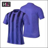 Latest money in safe 2015 low price soccer jersey with low MOQ