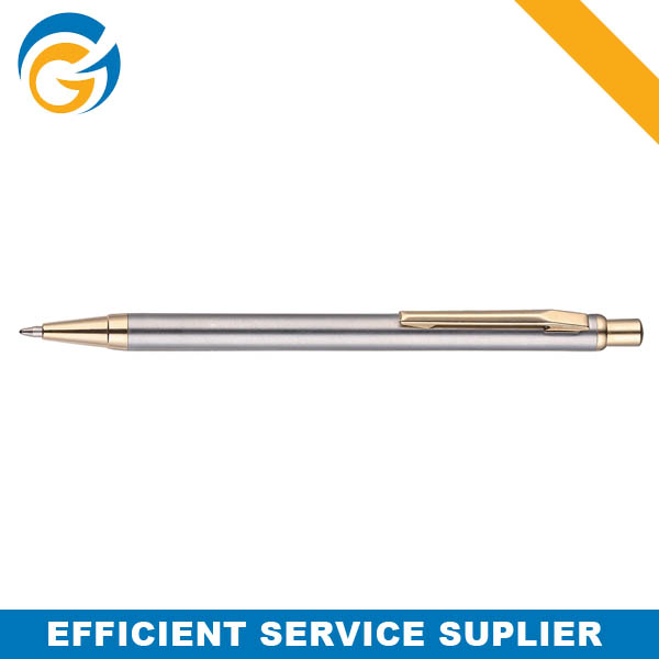 High Quality Metal Slim Roller Ball Pen