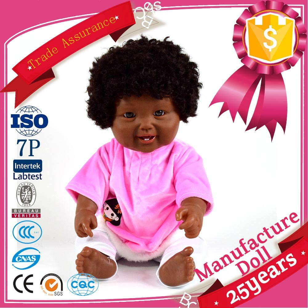 top 10 seller 11.5 inch black baby doll