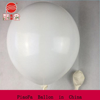 DongGuan Manufacturer Wholesale 12'' White inflatable Latex free Ballons toys for kids