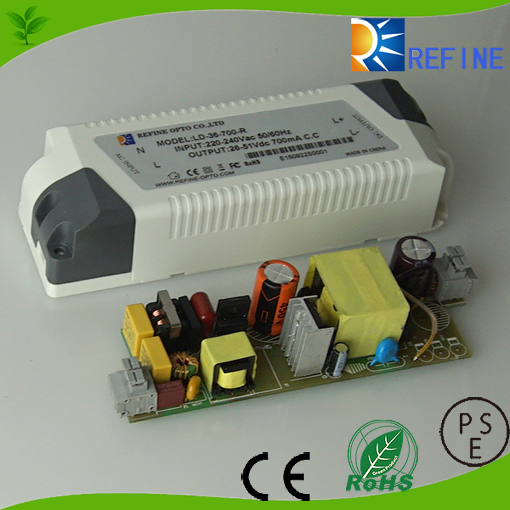 30w 45w 50w 350ma 700ma Constant current dimmable led light driver