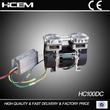 HC -DC 100 CE approved, Oil-Free Air Compressor (1 for 2), mini air compressor for dental chair, 220V/110V