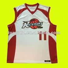Latest basketball uniform design 2012