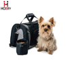 Luxury Dog Carriers Black Pet Travel Carriers Small dogs Folding Pet Carry on Bag