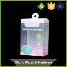 Custom Very Small Custom Transparent Plastic Pvc Automatic-Lock Bottom Packaging Boxes Clear