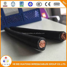 CE certified 4awg flexible neoprene Sheathed welding cable wire
