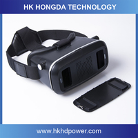Multifunctional vr box color vr box 3d glasses video glasses full hd for promotion