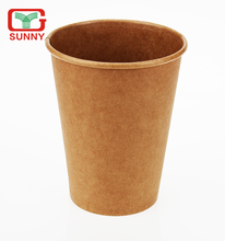 Flexo/Offset Printing Custom Printed Disposable Kraft Paper Cup