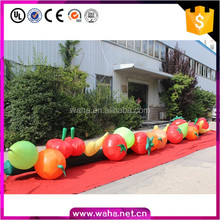Custom make inflatable vegetable fruit chain