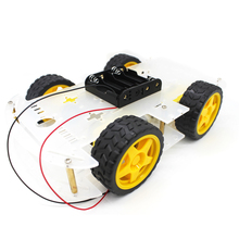 Best quality cheap module Smart car chassis 4