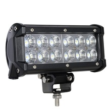 12pcs x 3W 36W 7'' Flood beam 12 volt 24 volt Truck LED Head Lamp for Auto front lights