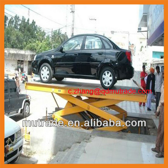 Chinese Mutrade Car Elevator System No Post Parking Device
