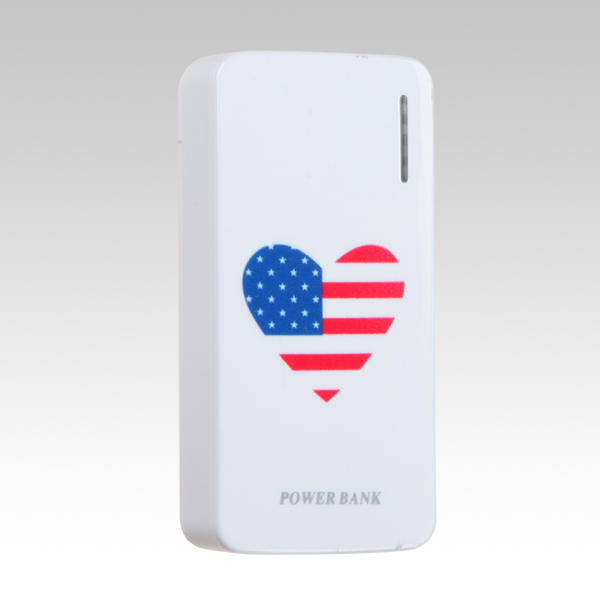 power bank rohs ABS plastic fast charging power bank HS