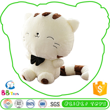 New Design Customize Plush White Long-Tailed Cat