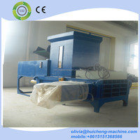 Hydraulic rice husk baling machine/wheat straw pressing machine/hydraulic rice husk packing machine