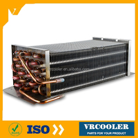 finned freezer condenser outdoor wood furnance boiler heat exchnger