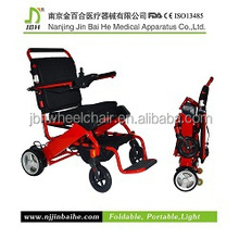 big wheel not foldable electric wheelchair