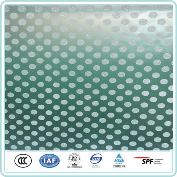 China supplier 19mm thick anti slip ceramic frit glass for decoration