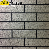TUBA Imitation Brick Texture Wall Paint For Interior And Exterior