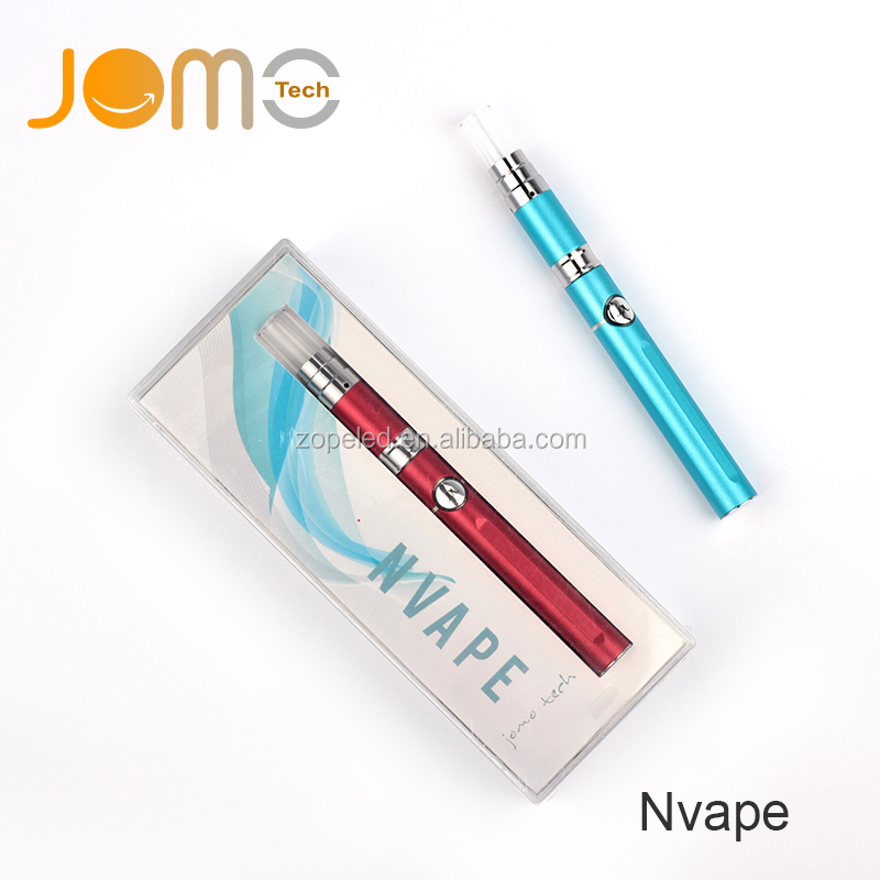 jomotech nvape electronic cigarette portable wax smoking ego no wick wax pen