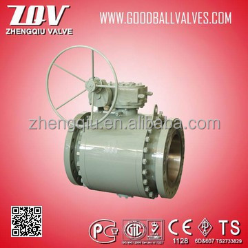 Forged High pressure Carbon steel ball valve 2000PSI,forjar ball velan