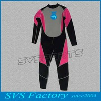 Wholesale neoprene long sleeve freediving wetsuit