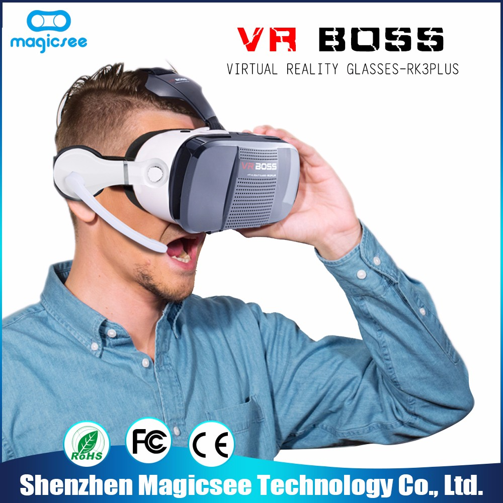 High quality video 3d glasses vr headset goggles