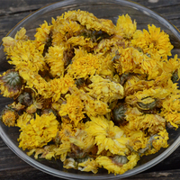 Alibaba wholesale dried flower tea royal yellow Chrysanthemum flower