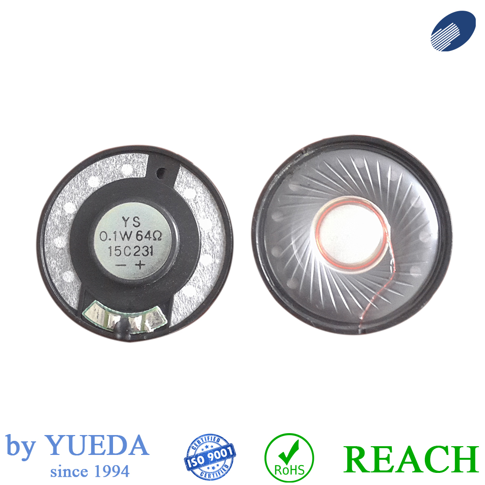 40mm micro speaker driver for headset