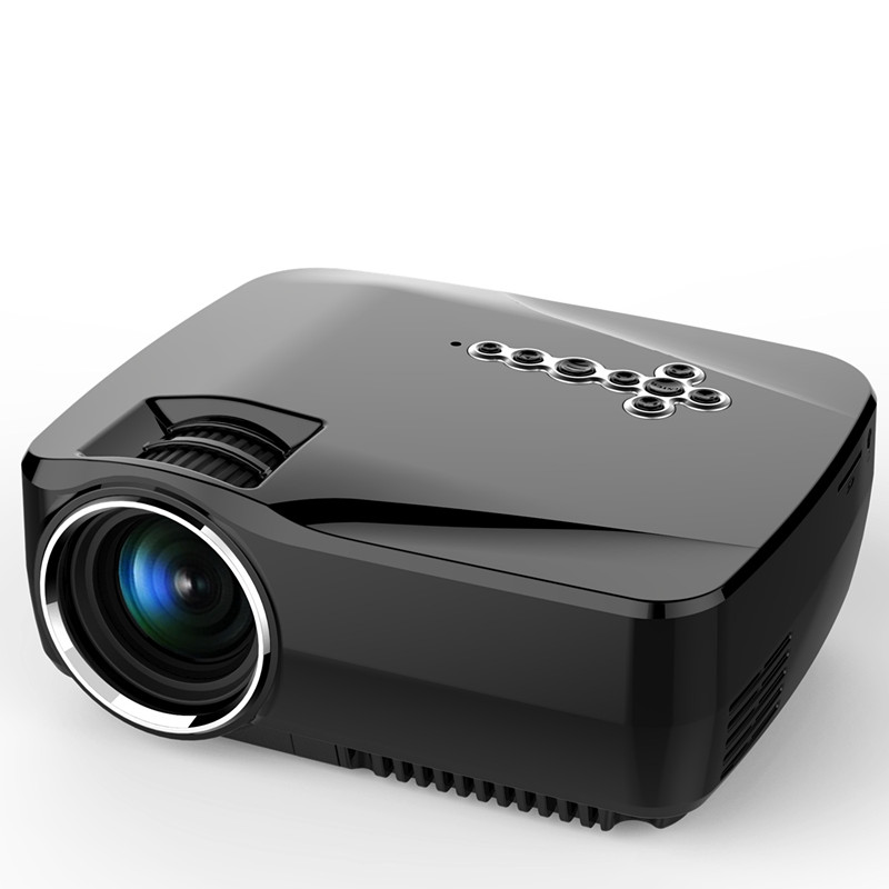 GP70UP USMART projector,Bluetooth,WIFI, Android4.4(8G+1G) Wireless led Projector 1500 lumens