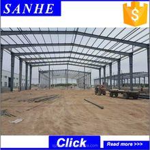 Construction companies produced two storey steel warehouse building