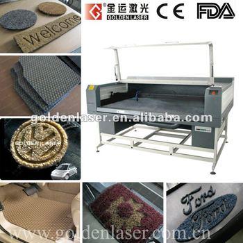 Logo Floor Rug Car Carpet Car Mats Laser Cutter Machine View Car