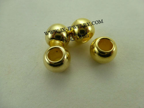 Wholesale Big Hole Beads More Color and Size Support Nickel Lead Free