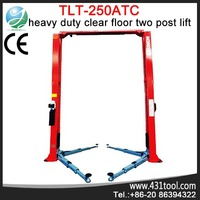 5 tons Launch CE Certificated TLT250ATC 2 post vehicle lift