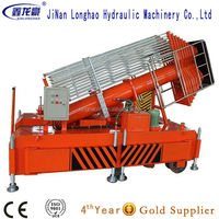 Hydraulic Dual Ladder elescopic Cylinder Aerial Lift Work Platform