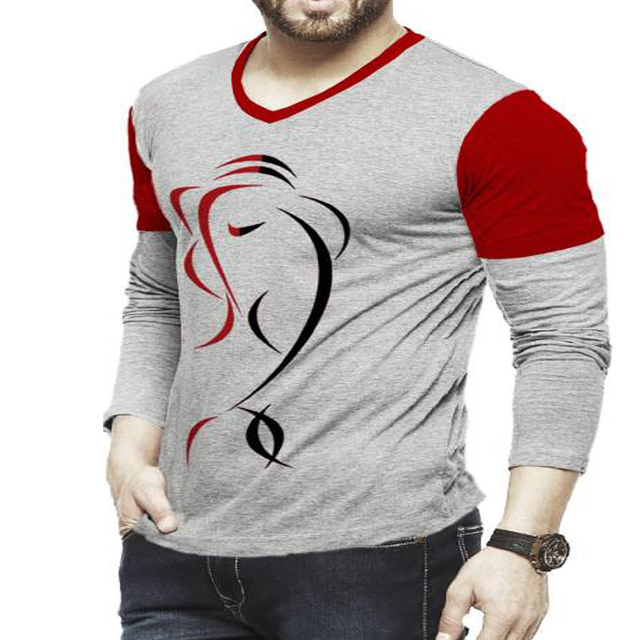 Wholesale Running Casual Sport Long Sleeve Print T Shirt